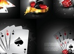 HD Playing Cards & Dice Vector Graphics