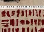Real Brush Strokes Set