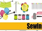 Sewing Related Vector Materials & Notions