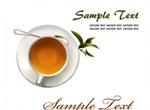 Realistic Cups Of Coffee & Tea Vector Graphics