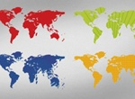 World Vector Map Graphic
