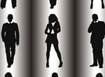 Business People Vector Silhouettes Pack