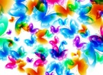 Glorious Fantasy Butterfly Heart Vector Background