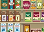 Country Grocery Store Vector Background