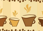Trendy Coffee Cafe Vector Graphic