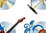 Musical Instruments Vector Graphics