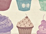 Cup Cakes High Res Shabby Chick PS Brushes