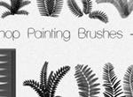 Photoshop Painting Brushes FERNS