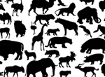 41 Vector Animal Silhouettes