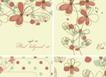 Elegant Floral Background Pattern Vector
