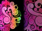 Free Swirly Vector Background