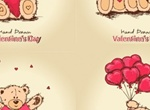 Sweet Teddy Bear Valentine's Graphics