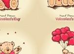 Sweet Teddy Bear Valentine's Graphics