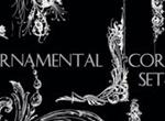 Ornamental Corners Set 2