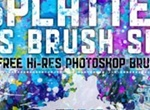 Hi Res Splatter PS Brush Set