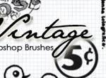 Vintage Post Card Brushes
