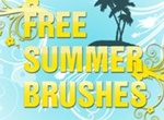 Summer Photoshop Brushes