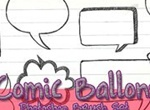 Comic Ballons Brushes