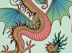 Detailed Colorful Year Of The Dragon Vector