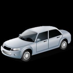 Car, Grey, Transportation, Vehicle Icon