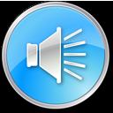 Volumepressedblue Icon