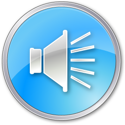 Volumepressedblue Icon