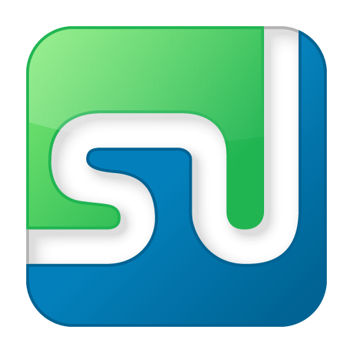 Box, Color, Social, Stumbleupon Icon
