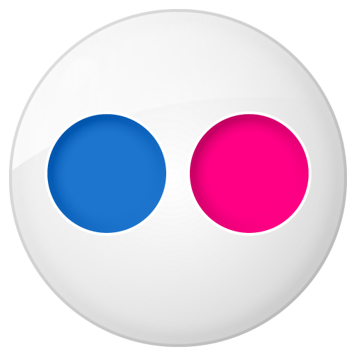 Button, Flickr, Social Icon