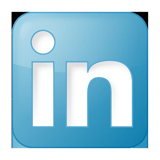 Blue, Box, Linkedin, Social Icon