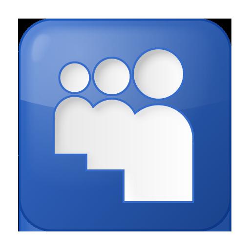 Blue, Box, Myspace, Social Icon