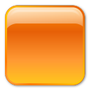 Box, Orange Icon