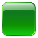 Box, Green, Square Icon