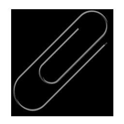Attach, Attachment, Black, Clip, Paperclip Icon
