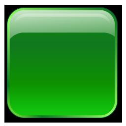 Box, Green, Square Icon