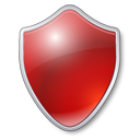 Antivirus, Protection, Red, Shield Icon