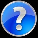 Blue, Circle, Help Icon