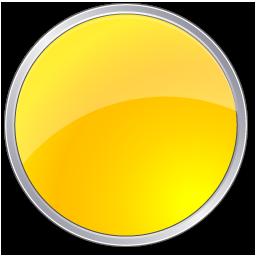 Circle, Yellow Icon
