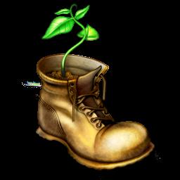Boot, Plant, Shoe Icon