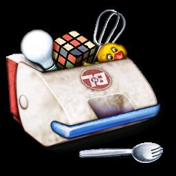 Box, Toys Icon
