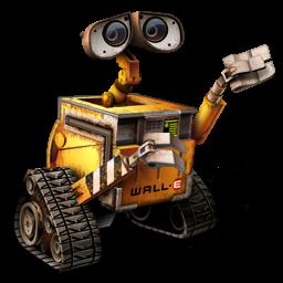 Pixar, Robot, Wall Icon