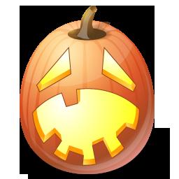 Halloween, Hysterical, Jack, Lantern, Pumpkin Icon