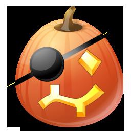 Halloween, Jack, Lantern, Pirate, Pumpkin Icon