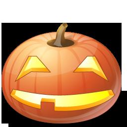 Halloween, Jack, Lantern, Pumpkin, Smile Icon