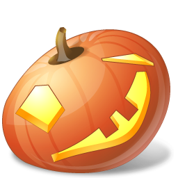 Halloween, Jack, Lantern, Pumpkin, Wink Icon