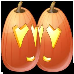 Halloween, Jack, Lantern, Love, Pumpkin Icon
