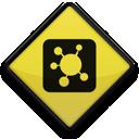 Logo, Propeller, Square Icon