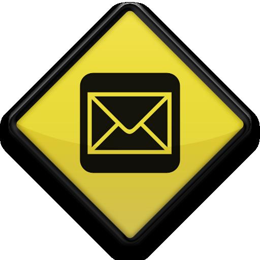 Mail, Square Icon