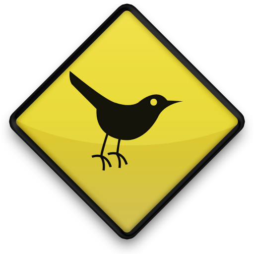 Bird, Sign, Twitter Icon