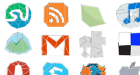 Web 2.0 Origami Icons