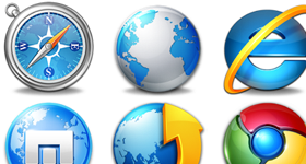Web Browsers Icons